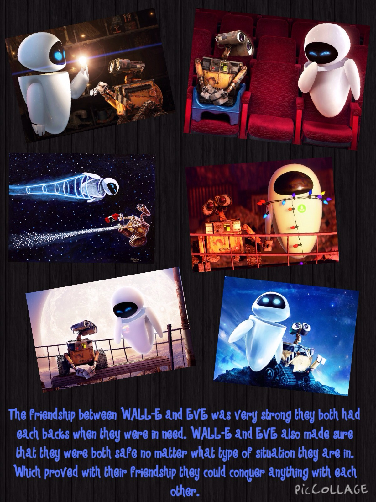Wall E Friendship Poster Task 1