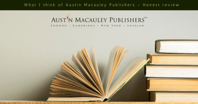What I think of Austin Macauley Publishers – Honest review
