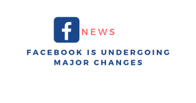 Facebook is Undergoing Major Changes