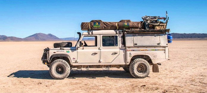 Overlanding family - A2A Expedition