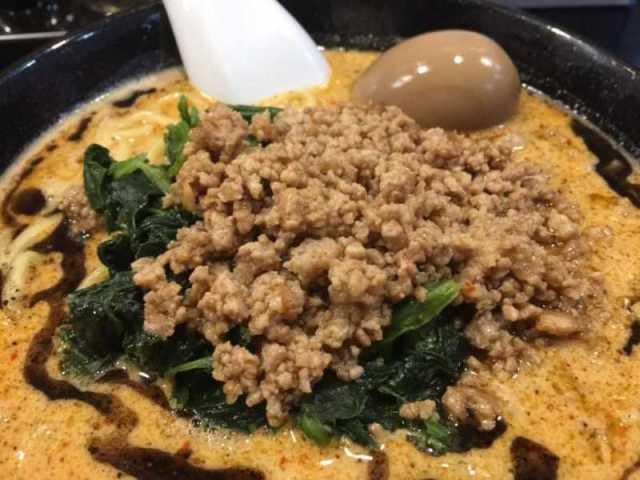 天竜マー油担々麺