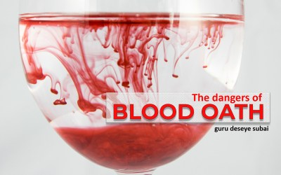 The Dangers Of Blood Oath