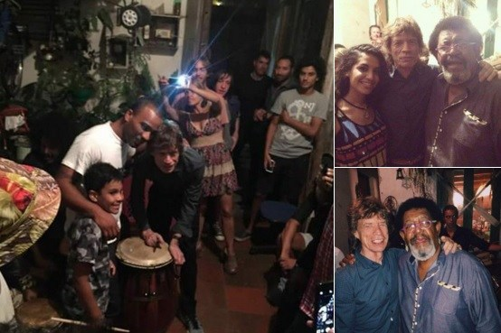 Mick Jagger experience real Uruguay