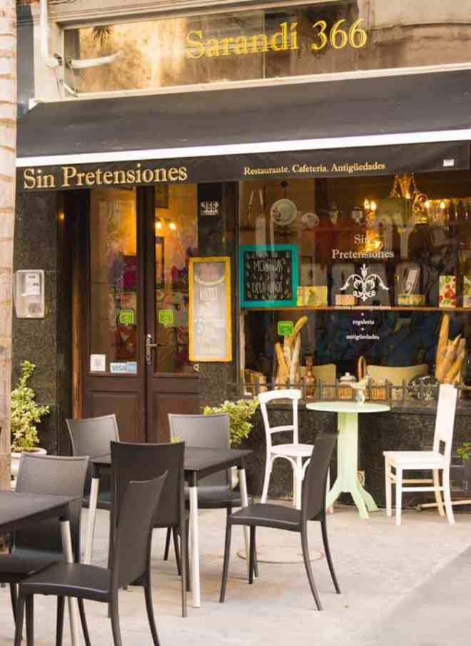 Recommended restaurants in Montevideo: Sin Pretensiones
