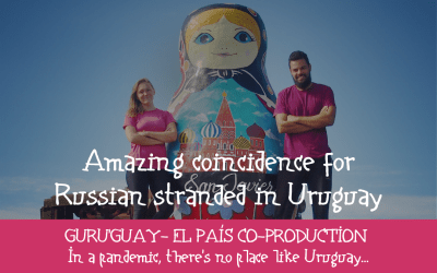 Amazing coincidences for Russian stranded in Uruguay