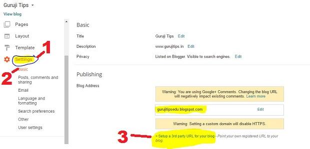 Blog to Custom Domain