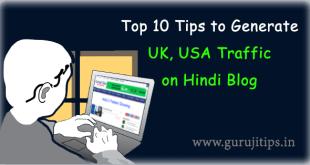 UK USA Traffic