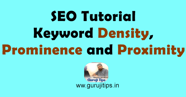 Keyword density in hindi