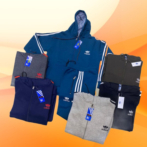 adidas hoody with trouser track suit