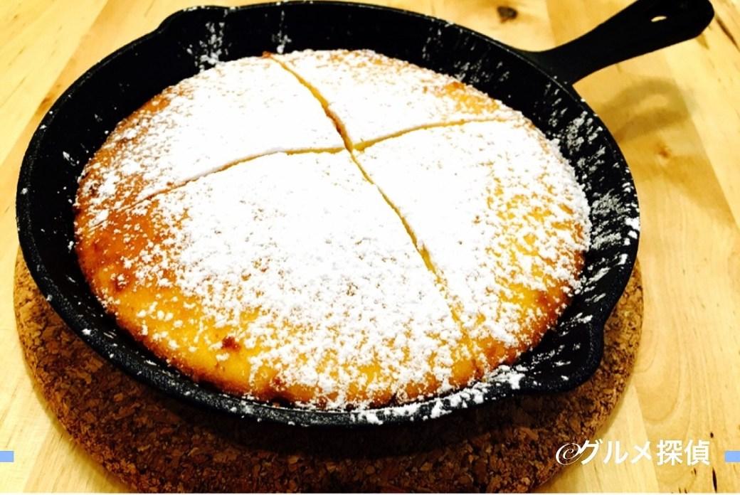 【グルメ探偵】※画像9 カステラケーキのアップ