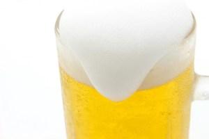 ぐるめ亭で生ビール