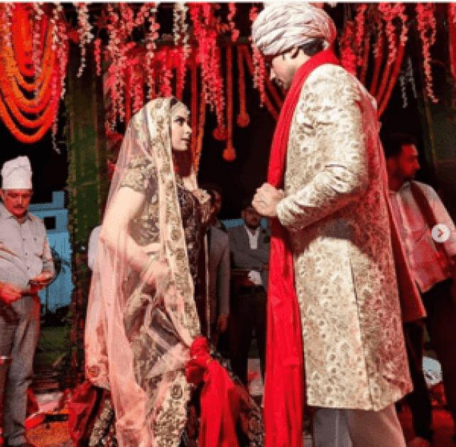 sumit vyas and Ekta kaul wedding pics