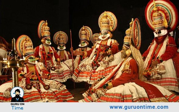 Kathakali - the classical dance drama