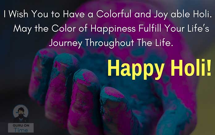 happy holi wishes and sms