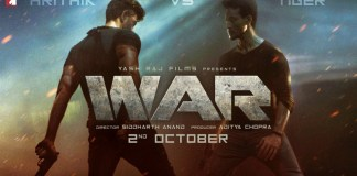 war hritik and tiger