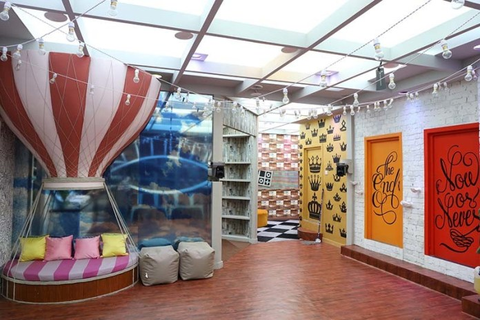 Bathroom area of Bigg Boss House