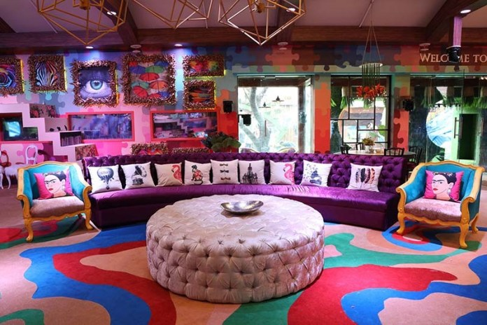 Living area of Bigg Boss House