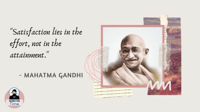 Inspiring Mahatma Gandhi Quotes