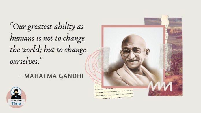 Mahatma Gandhi Quotes Today