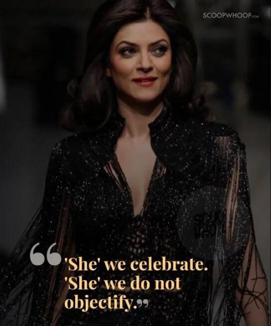 Sushmita Sen inspirational quotes 17