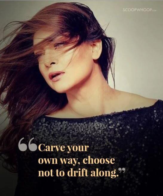 Sushmita Sen inspirational quotes 3