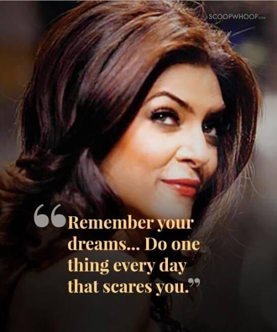 Sushmita Sen inspirational quotes 5
