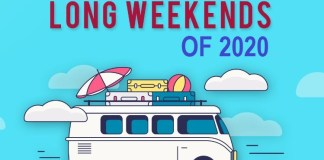 Long-Weekends-India-2020