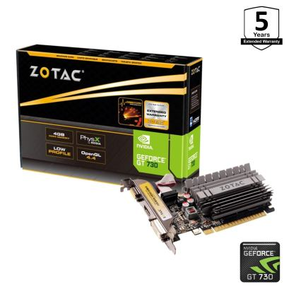 Zotac NVIDIA GT 730 Graphics Card