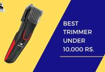 Best Trimmer Below 1K in India 2020