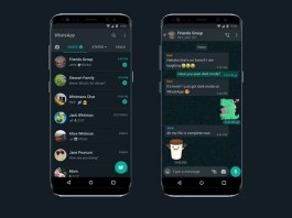 whatsapp dark mode for Android and iPhone Smartphones