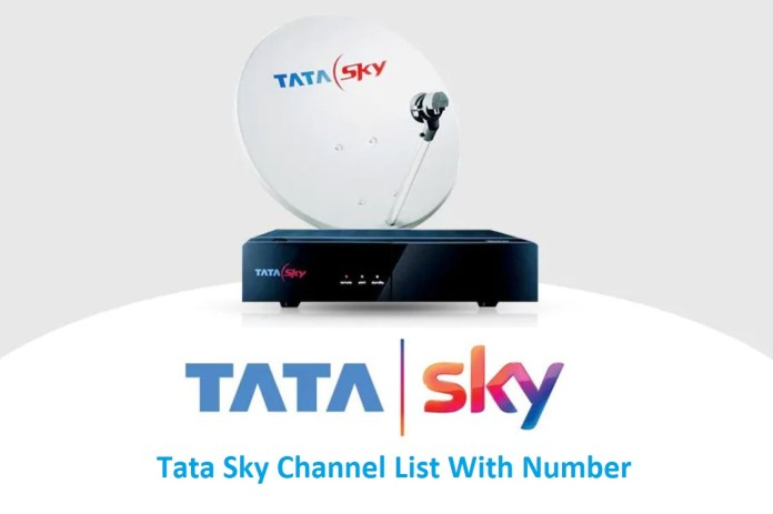 Tata Sky Channel List with Number
