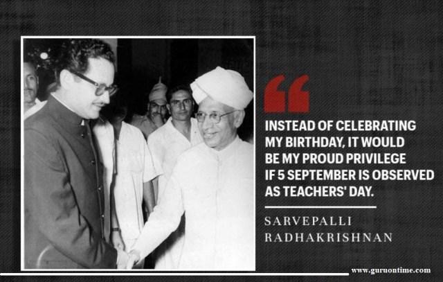 Saying by Sarvepalli Radhakrishnan