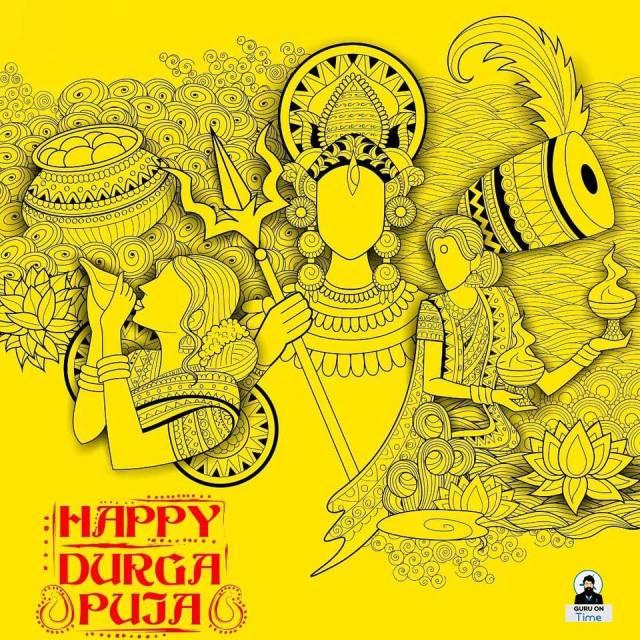 Durga Puja greetings message