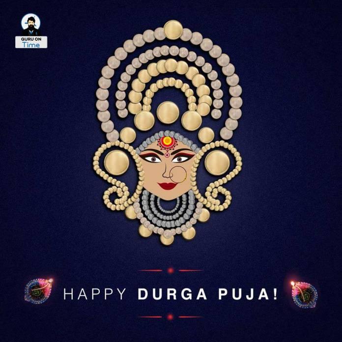 Goddess Durga Puja Greeting