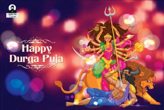 Wish you Happy Durga Puja