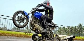 The thrills and chills of wheelies