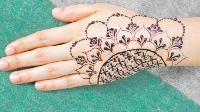 mehndi designs for rakhi festival