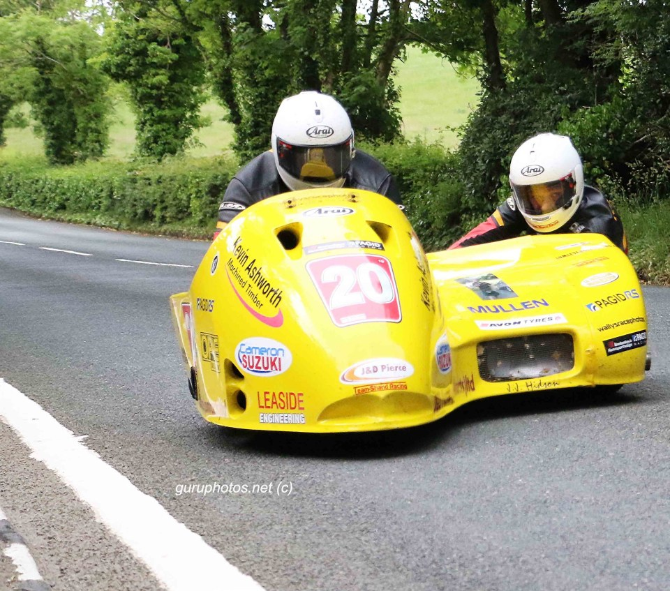 TT for webTT Isle of Man Gordan Shand Frank Claeys