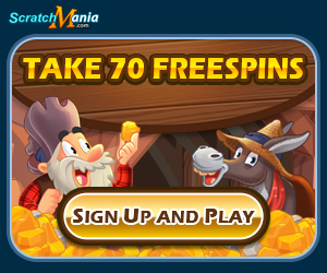 Sign Up And Get 70 Freespins From Scratchmania Guruplay