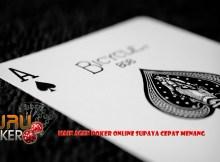 Main Agen Poker Online Supaya Cepat Menang