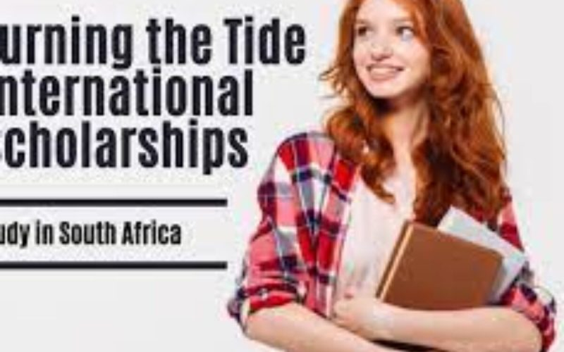 2021 Turning the Tide Scholarships at Stellenbosch University in South Africa