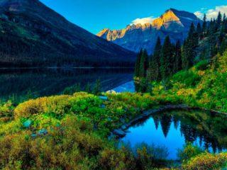 Национальный парк Глейшер в США