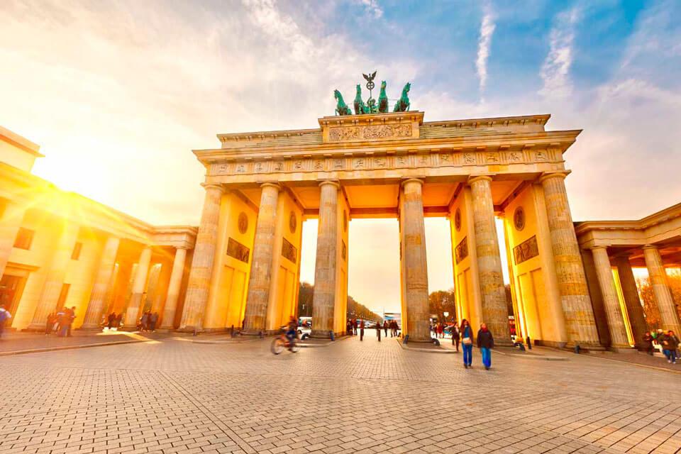 Glavne atrakcije Berlina na karti. Portal na ruskom jeziku za goste glavnog  grada Njemačke