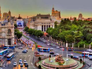 Площадь Сибелес в Мадриде