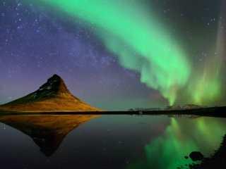 Где и когда можно увидеть северное сияние