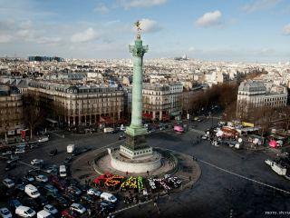 Площадь Бастилии в Париже — символ французской свободы
