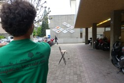 Crossboule : rebond chaise