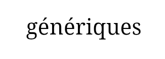generique