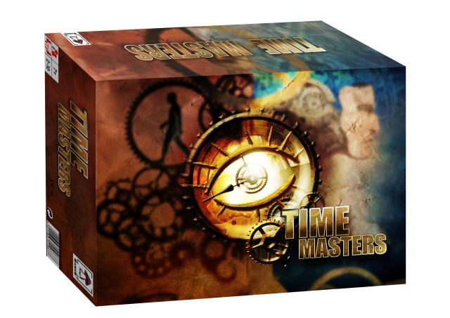 Time Masters - Image synthèse de la boîte
