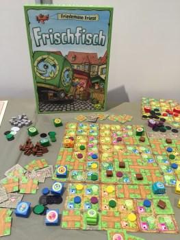 Frischfisch, réédition du jeu de Friedemann Friese